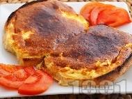Сандвич с яйце и сирене